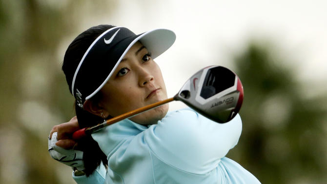 Thompson, Pak share Kraft Nabisco lead