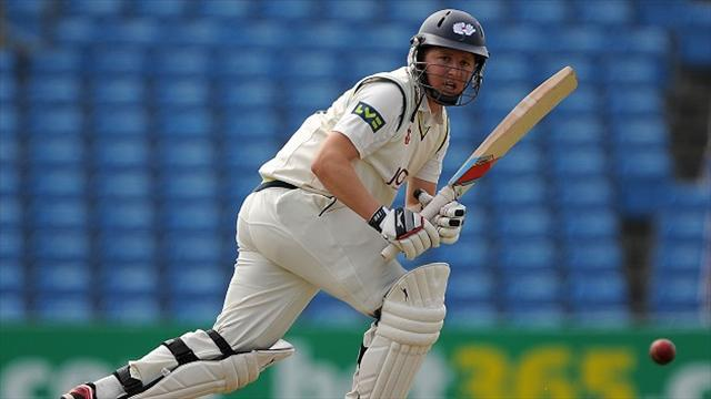 County - Ballance with Yorkshire on day one