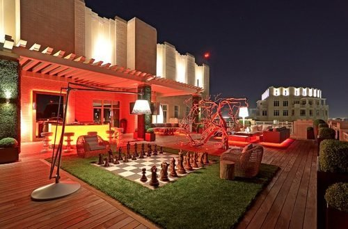Is this over-swanked Dallas patio trying too hard?
