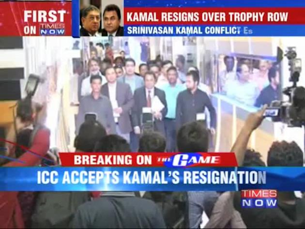 ICC accepts Prez Kamal's resignation