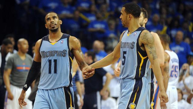 Basketball - Grizzlies level with Thunder in play-offs