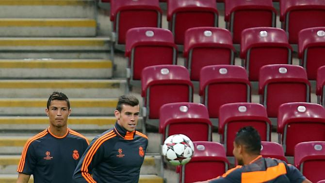 Real Madrid CF Training Session and Press Conference