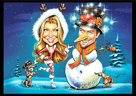 Celebrity Christmas Cards