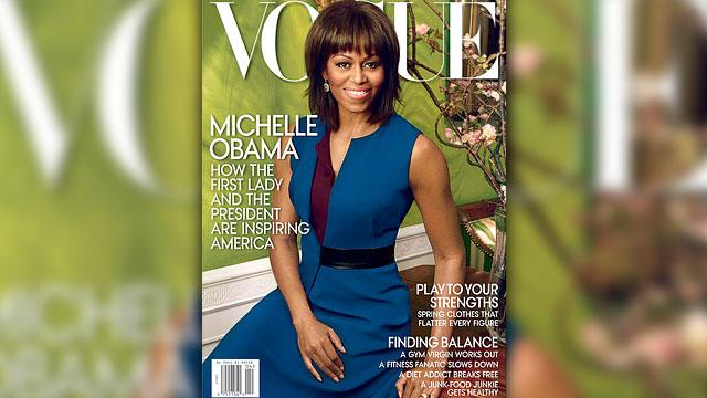 Michelle Obama Talks Family in 'Vogue'