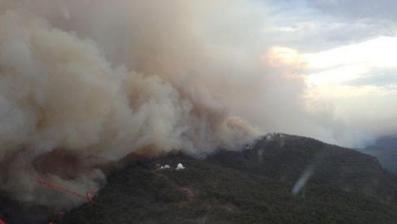 Huge Wildfire Damages Australia's Largest Optical Observatory