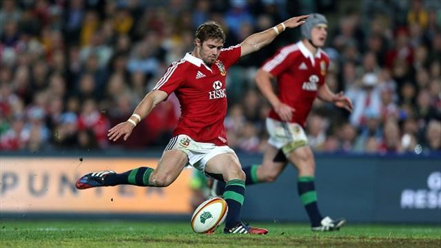 Rugby - Jenkins hails Lions kickers