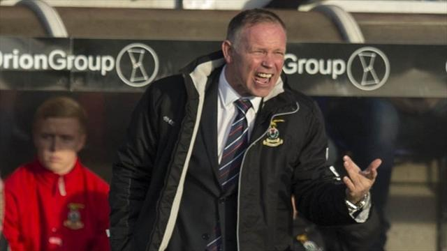 Scottish Football - Caley Thistle into last eight after win over Stranraer