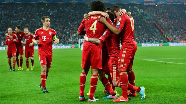 Champions League - Bayern into last four after win at Juventus