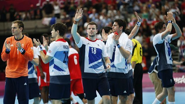 British men's Olympics handballers lose again