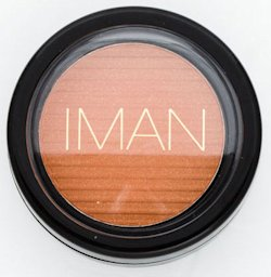 Iman Luxury Blushing Powder in Sunlit Copper