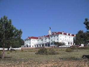 "This is the Stanley Hotel in Estes Park, Co. It inspired Steven King's ""The Shining"" and in fact the 1996 remake was filmed here."