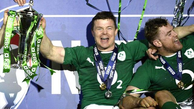 Six Nations - Ireland clinch title with dramatic victory over France as O'Driscoll bows out