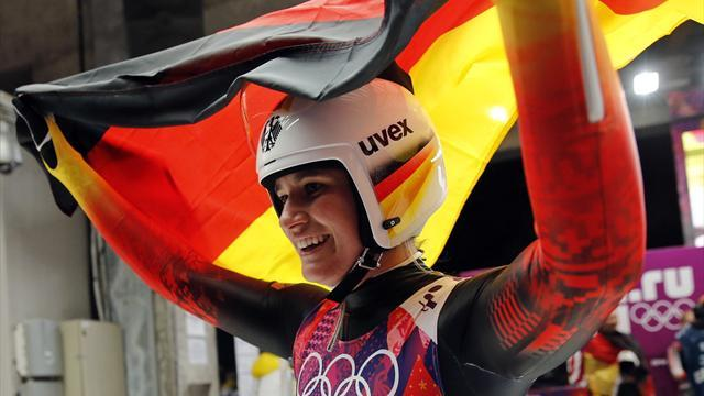 Luge - Geisenberger wins gold but team discord evident