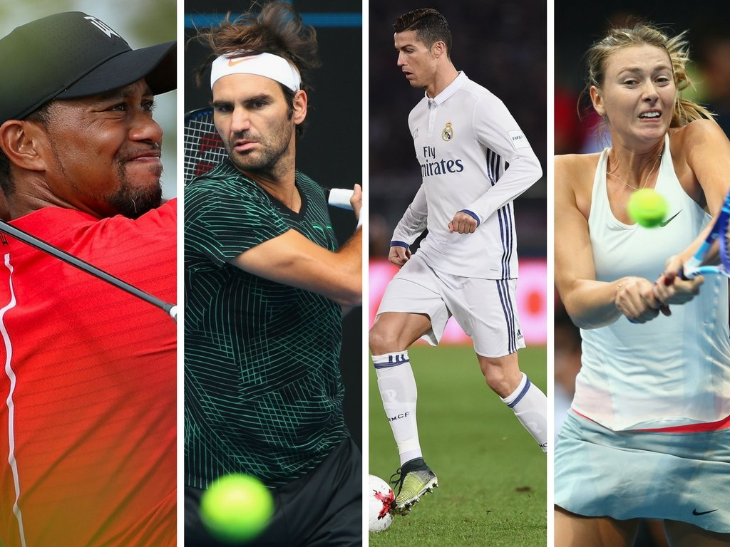 Woods, Federer and Sharapova did very little to earn their sponsorship in 2016 - but Cristiano Ronaldo had his best year ever