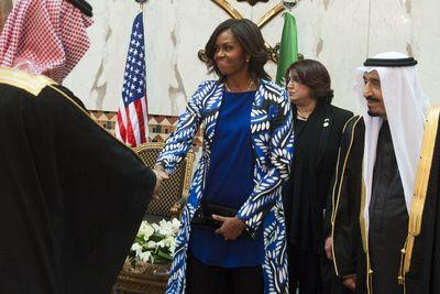US media coverage of Michelle Obama's Saudi Arabia trip isn't just wrong — it's racist