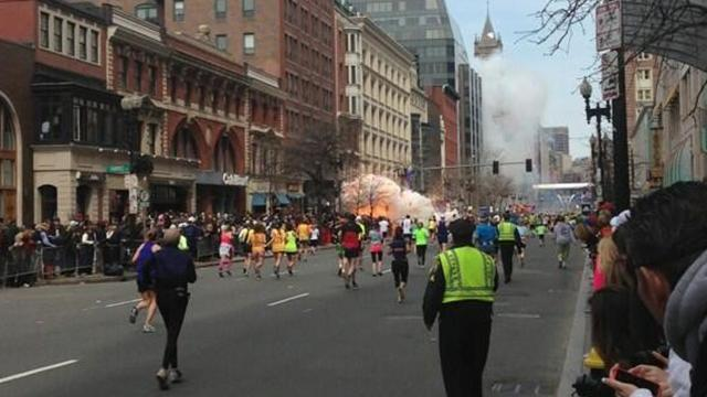 Athletics - Bombs kill three people, wound more than 100 at Boston Marathon