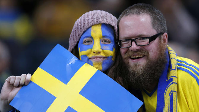 It's raining men! Sweden sees historic gender balance shift