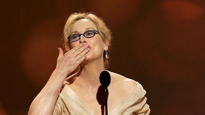Meryl Streep adds another trophey to her case and we still love her.