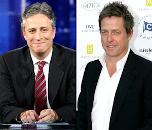 """Jon Stewart Will """"Never"""" Welcome Hugh Grant Back on The Daily Show"""
