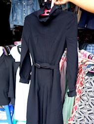 Shopping for vintage clothes in Bandung
