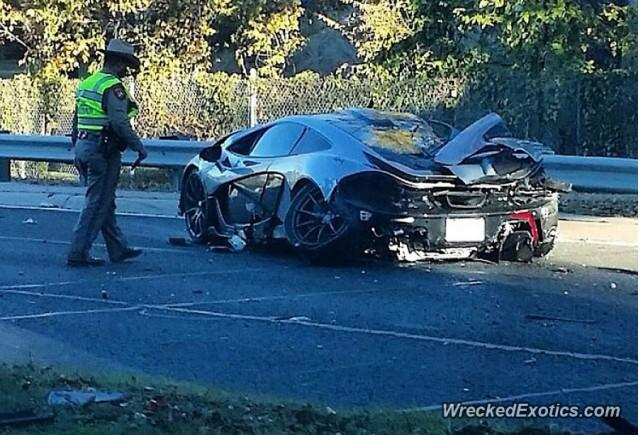 27-Year-Old That Crashed McLaren P1 Had Car For Less Than 24 Hours