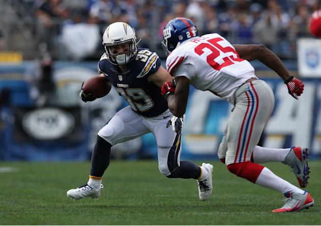 New York Giants v San Diego Chargers