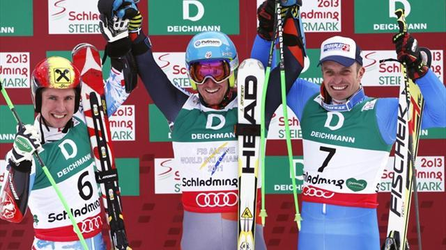 Alpine Skiing - Ligety seals hat-trick of golds with giant slalom triumph