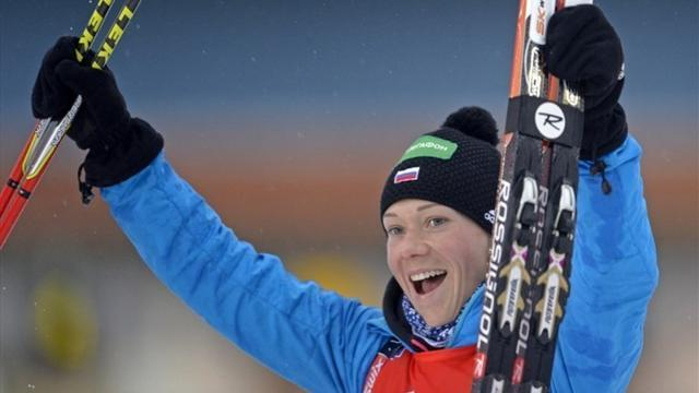 Biathlon - Russia claim first World Cup relay win of season in Ruhpolding