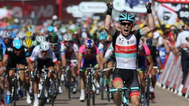 Tour de France - Bakelants in yellow after surprise stage two win
