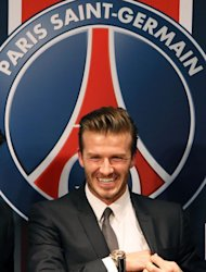 British football player David Beckham