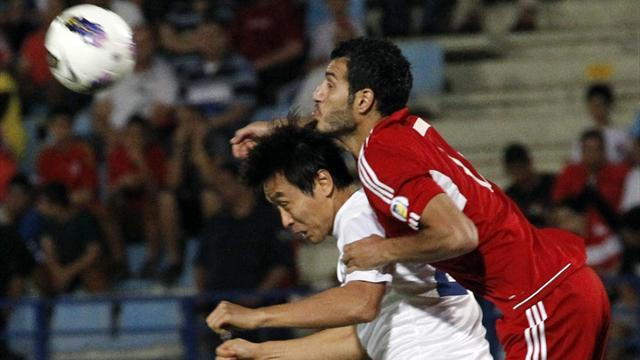 World Cup - Profligate Korea salvage last-gasp draw against Lebanon