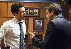 Danny Pino and Raul Esparza | Photo Credits: Michael Parmelee/NBC