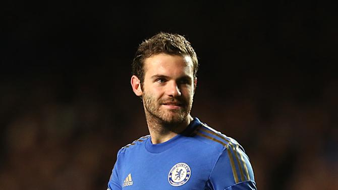 Juan Mata, pictured, says Roberto Di Matteo brings out the best in Chelsea
