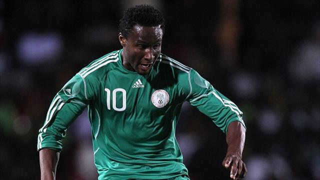 Football - Mikel out of Nigeria friendly with stomach bug