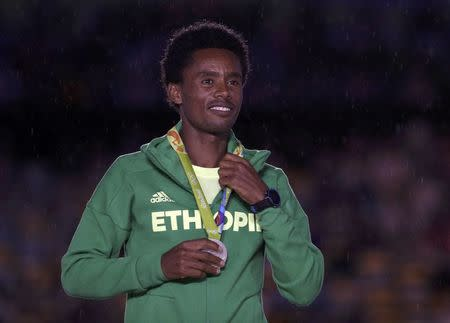 Athletics - Men's Marathon Victory Ceremony