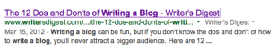 Why Consistent Blog Content Boosts SEO & Builds Authority image Screen Shot 2014 01 23 at 9.34.12 PM