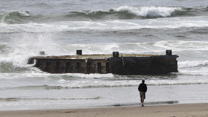 West Coast girds for more tsunami debris in winter