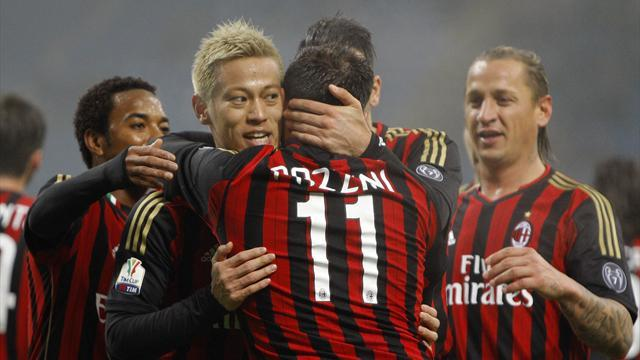 Serie A - Zaccheroni: Be patient with Honda