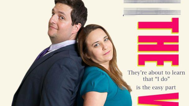 Couple's Engagement Photos Spoof Cheesy Rom-Com Movie Posters