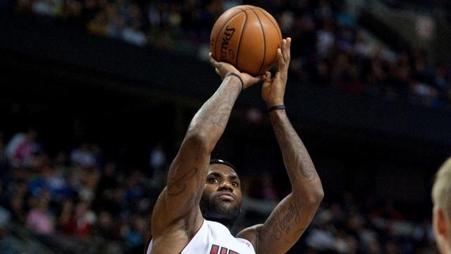 Basketball - LeBron questionable for Pacers game with a sore ankle