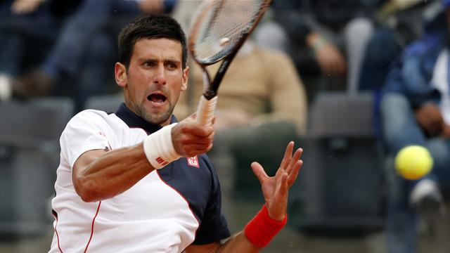 Tennis - Djokovic subdues feisty Ferrer to reach Rome semis