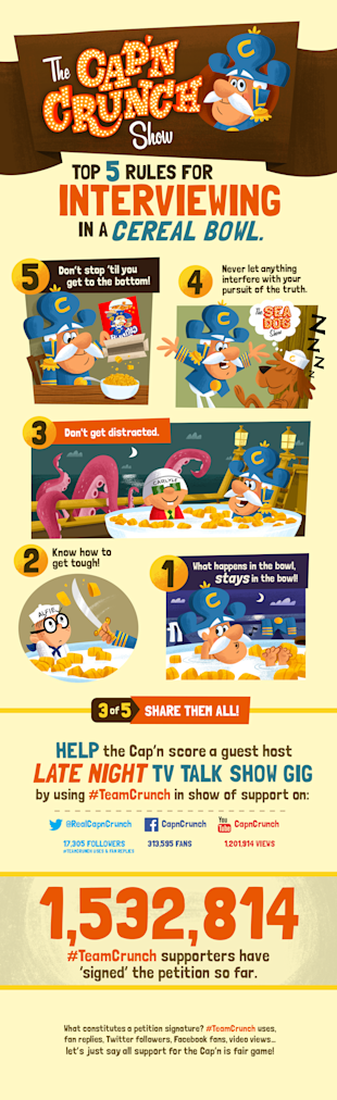 Top 5 Rules: Interviewing in a Cereal Bowl [Infographic] image tccs top5reasons 31
