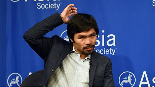​Manny Pacquiao won't compete at Rio Olympics even if controversial boxing rule passes