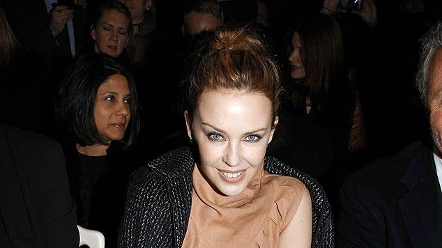 Minogue Kylie Paris Fashion Week