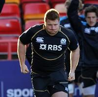 Kyle Traynor, pictured, will replace injured Ryan Grant against Tonga