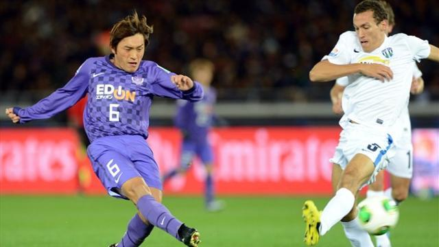 World Football - Aoyama gives Hiroshima perfect start
