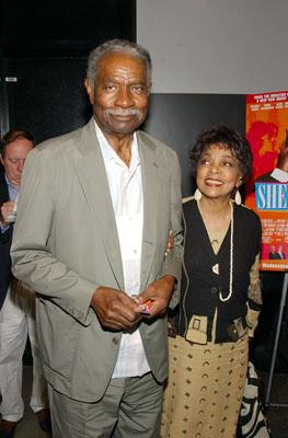 Premiere: Ossie Davis and Ruby Dee at the New York premiere of Sony Pictures Classics' She Hate Me - 7/20/2004