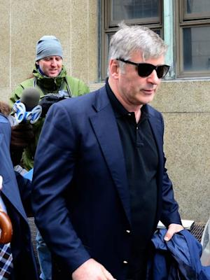 Alec Baldwin is seen at Manhattan Criminal Court on November 12, 2013 in New York City -- Getty Images