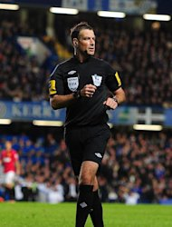 Mark Clattenburg, pictured, has received the support Sir Alex Ferguson