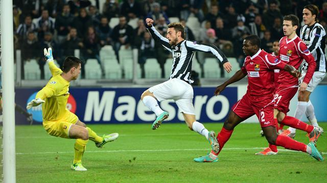 Champions League - Juventus too good for Nordsjælland